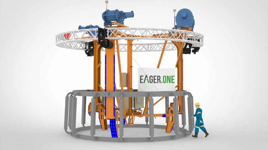 Anode Cage Installation Aid for Van Oord Offshore