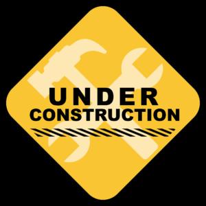 equipment under construction